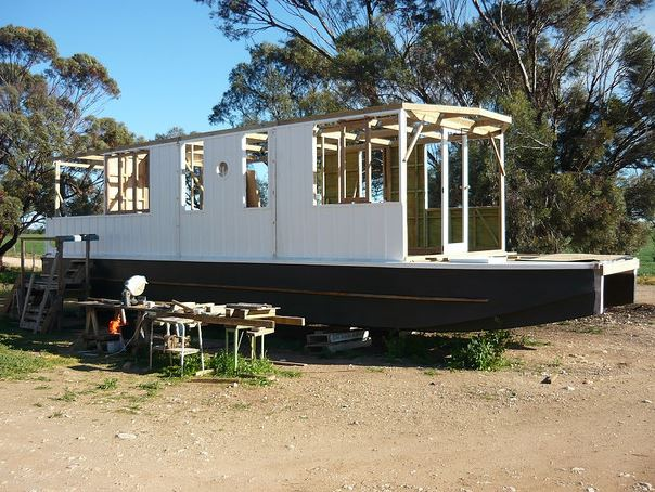 shantyboat in progress